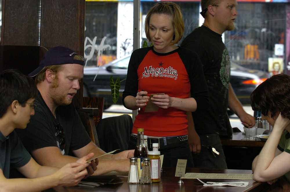 At the Magnolia Pub and Brewery in San Francisco, July 12, 2006.