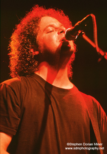 Rob Hotsckiss of Train performs at the Fillmore Auditorium in San Francisco, November 3, 2000.
