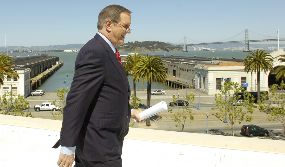 ABC's Charles Gibson on location in San Francisco May 8, 2007.
