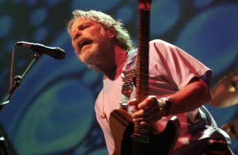 Bob Weir performs with the Dead at the Warfield Theater in San Francisco, February 9, 2004.