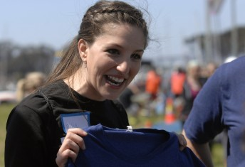 During the MMRF 5K benefit race at San Francisco's Marina Green, April 6, 2014.