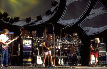 The Grateful Dead perform at  the Shoreline Amphitheater in Mountain View, Calif., September 18, 1994.