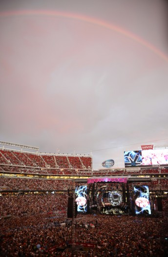 At Levi's Stadium for Fare The Well, a celebration of 50 years of the Grateful Dead in Santa Clara, Calif., June 28, 2015