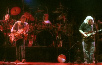 The Grateful Dead perform at Freedom Hall in Louisville, Ky., April 9, 1989. Photo by Stephen Dorian Miner