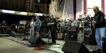 The Dead perform at the Shoreline Amphitheater in Mountain View, Calif., , June 26, 2004
