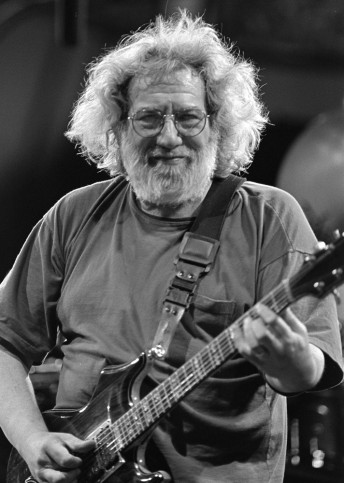 Jerry Garcia peforms with the Grateful Dead at the UNLV Silver Bowl in Las Vegas, June 26, 1994. Photo by Stephen Dorian Miner