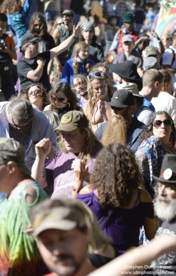During Jerry Day at the Jerry Garcia Amphitheater in San Francisco's McLaren Park, August 2, 2015.  Photo by Stephen Dorian Miner