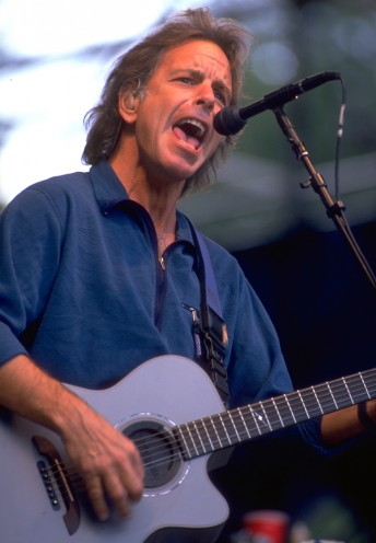 Bob Weir performs with the Grateful Dead at the Seattle Memorial Coliseum, June 14, 1994.  Photo by Stephen Dorian Miner