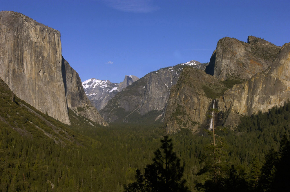 At Yosemite National Park, March 16, 2007.  The fabled location is celebrating its 150th Anniversary this year, marking the signing of the Yosemite Grant by then President Abraham Lincoln in 1864.
