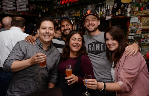 During the Toronado's 30th aniversary celebration in San Francisco, August 12, 2017.  Over the years, the famous Lower Haight location has morphed from a local establishment to one of the premier beer bars in the entire world.