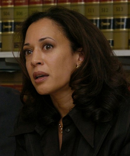 California Senator Kamala Harris threw hat in the ring Monday, announcing her intention to run for the nation's highest office.  2005 file photo by Stephen Dorian Miner